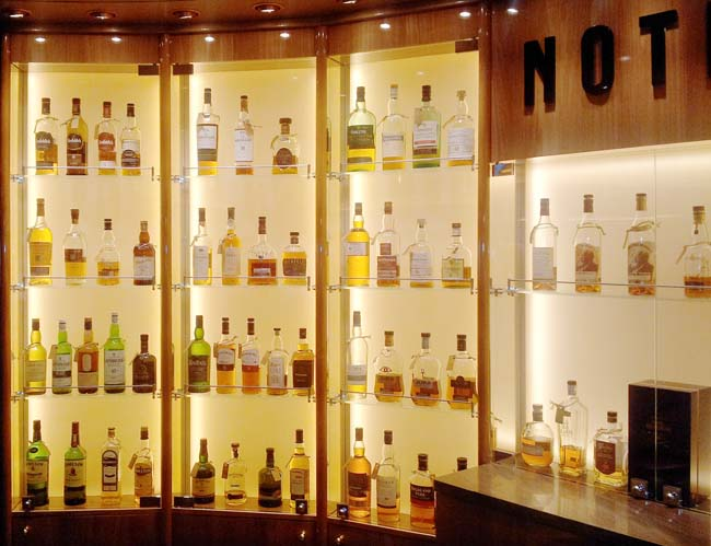 Whiskybar Notes MS Koningsdam